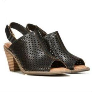 Dr. Scholl's Black Codie Slingback Sandal
